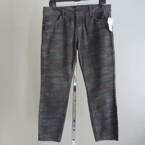 Sanctuary Clothing gray pants camo sz 30 slim leg